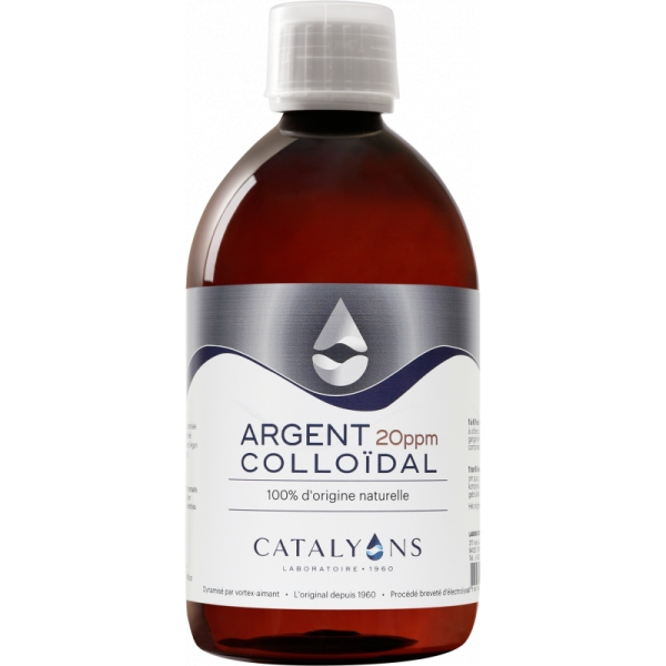 Argent colloidal - Flacon 500 ml Catalyons