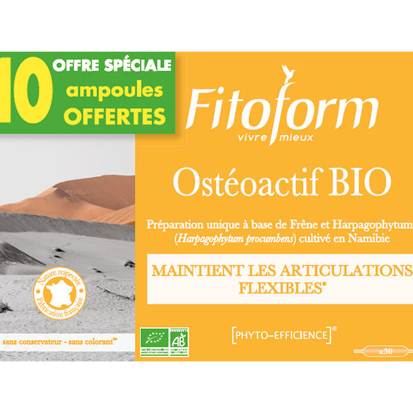 Osteoactif Bio - 20+10 ampoules Fitoform
