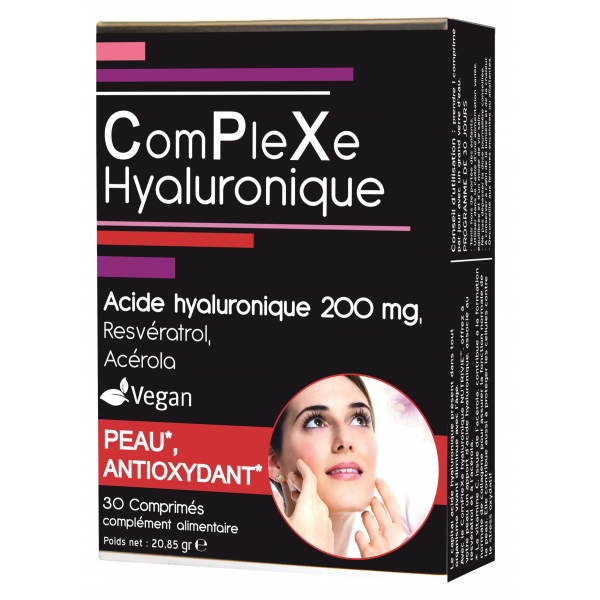 Acide hyaluronique - 30 comprimes Nutrivie