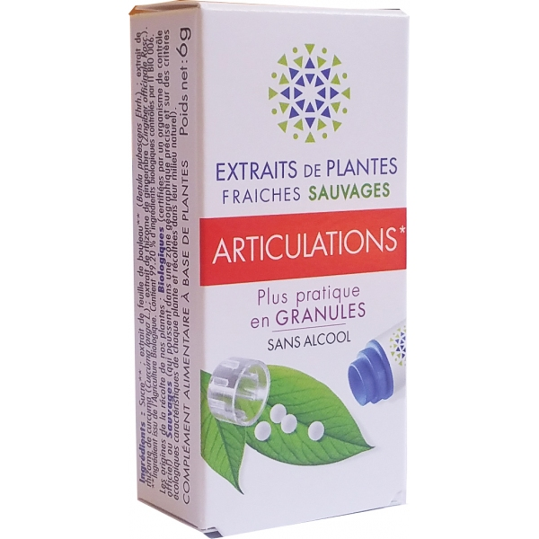 Complexe Articulations - Plantes fraiches granules