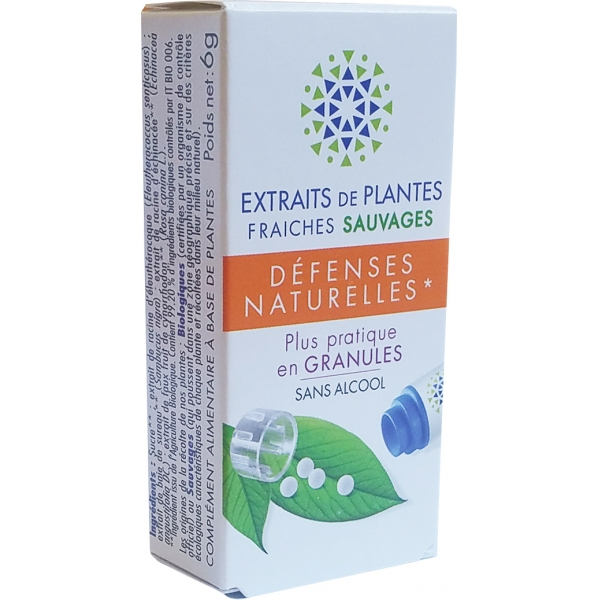 Complexe Defenses - Plantes fraiches granules