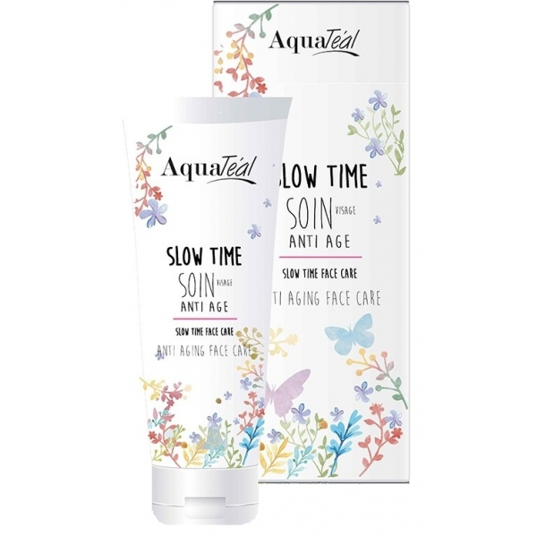 Soin Visage Anti age Slow time - tube 50 ml Aquateal