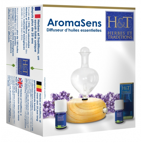 Diffuseur Huiles Essentielles Aromasens - Herbes et Traditions