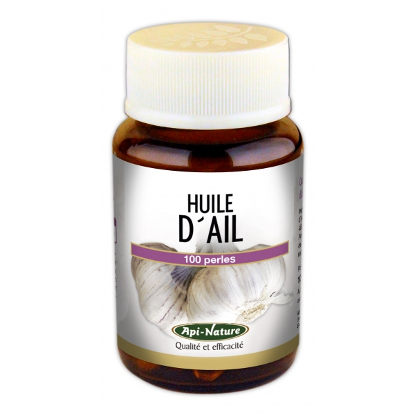 Huile Ail concentrée 920mg - 100 capsules Api nature
