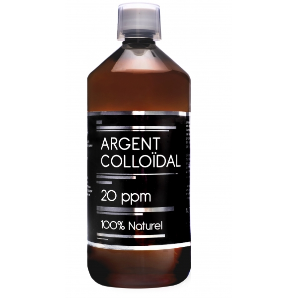 Argent colloidal 20 ppm - 1 litre Nutrivie