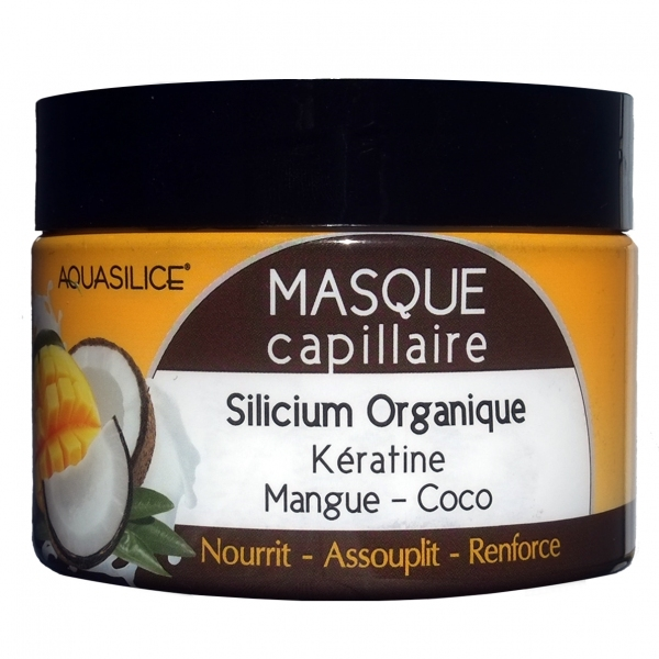 Masque capillaire Silicium Mangue Coco Pot 250 ml
