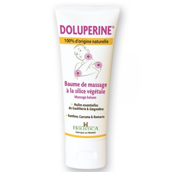Doluperine Baume de massage - tube 75 ml Holistica