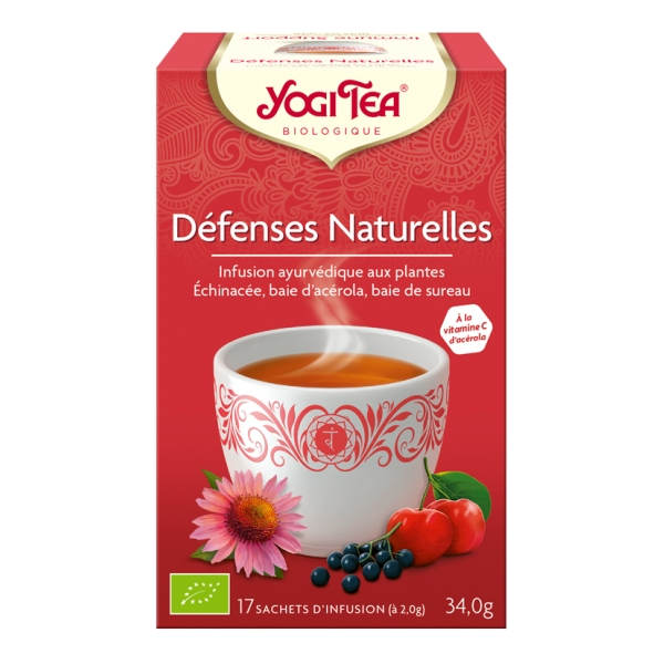 Defenses Naturelles - 17 sachets Yogi tea