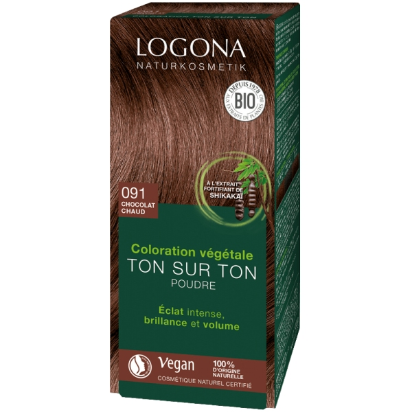 Coloration henne bio - Chocolat 100g Logona
