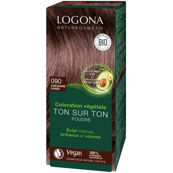 Coloration henne bio - Chataigne 100g Logona