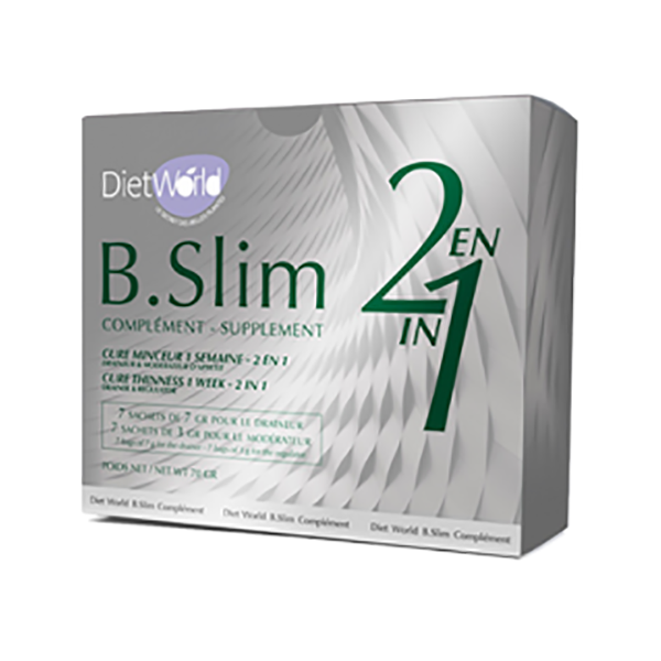 B Slim supplement - 2 en 1 Minceur Detox