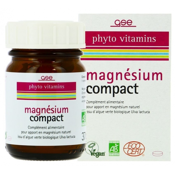 Magnesium compact - 60 comprimes GSE