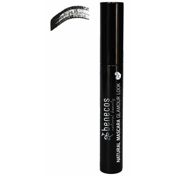 Mascara Noir Glamour look - Ultimate black Benecos