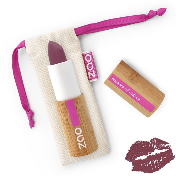 Rouge a Levres Aubergine - Soft Touch 437- Zao make up