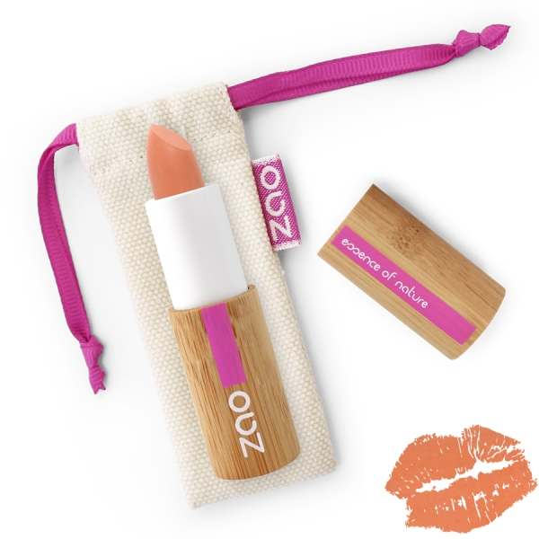 Rouge a Levres Peche - Soft Touch 432- Zao make up