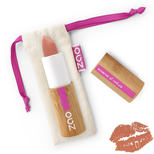Rouge a Levres Nude sensation - Soft Touch 433 - Zao make up