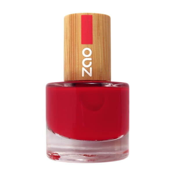 Vernis Ongles Rouge carmin 650 - zao make up
