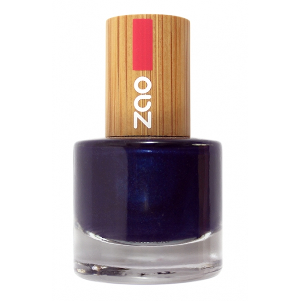 Vernis Ongles Bleu nuit 653 - zao make up