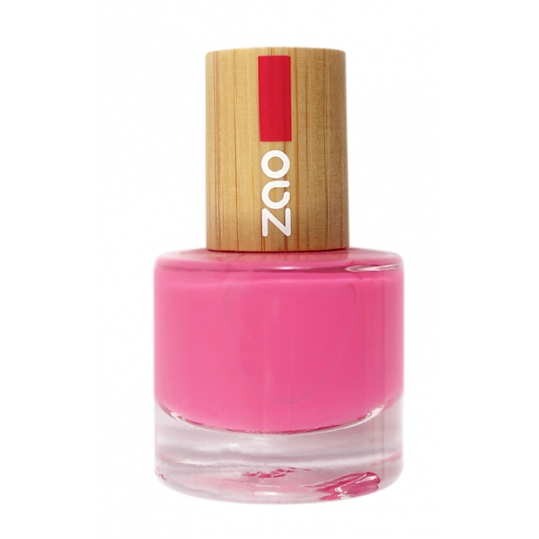 Vernis Ongles Rose fuchsia 657 - zao make up