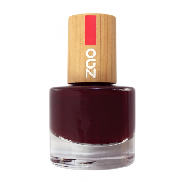 Vernis Ongles Cerise noire 659 - zao make up