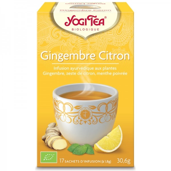Gingembre Citron - Yogi tea