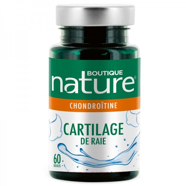 Cartilage de Raie - 60 gelules Boutique Nature