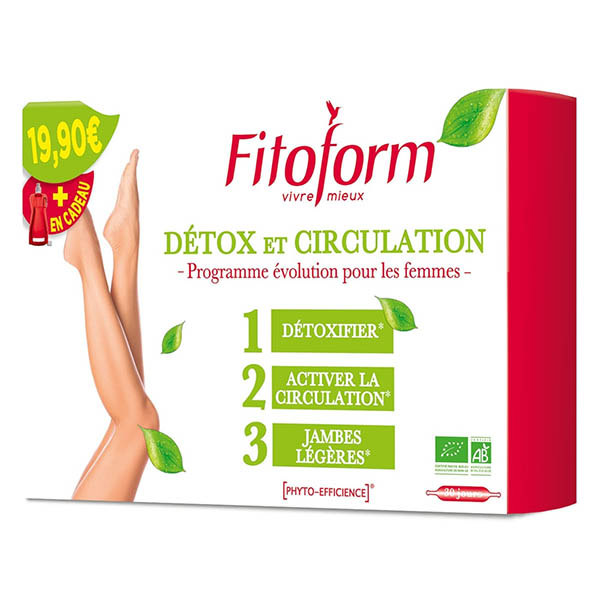 Detox Circulation - 30 ampoules Fitoform