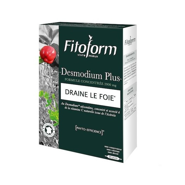Desmodium Plus - 20 ampoules Fitoform