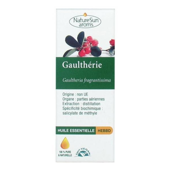 Gaultherie - Huile essentielle 10 ml NaturSun