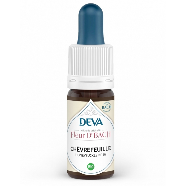 Chevrefeuille - Honeysuckle Fleur de Bach N°16 Flacon 10ml Deva