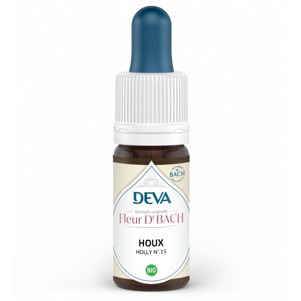Houx - Holly Fleur de Bach N°15 Flacon 10ml Deva