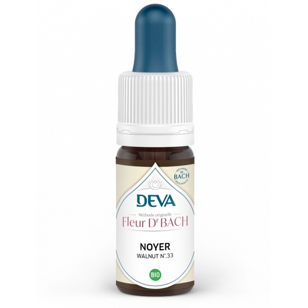 Noyer - Walnut Fleur de Bach N°33 Flacon 10ml Deva