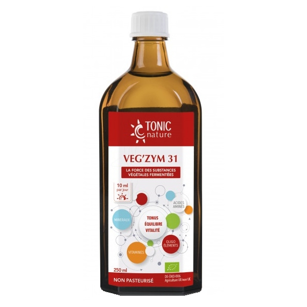 VegZym 31 - Flacon 250 ml Tonic nature