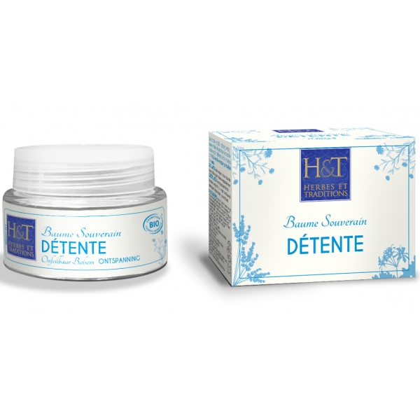 Baume Detente bio - Pot 30 ml Herbes et Traditions