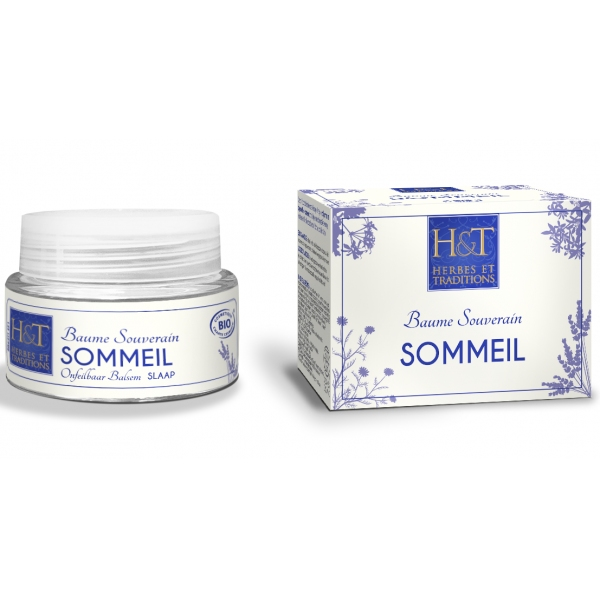 Baume Sommeil bio - Pot 30 ml Herbes et Traditions
