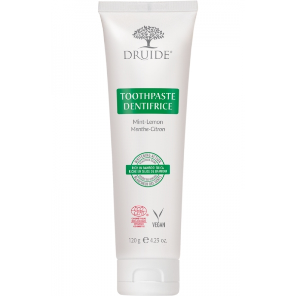 Dentifrice Menthe Citron bio - Tube 120 ml Druide