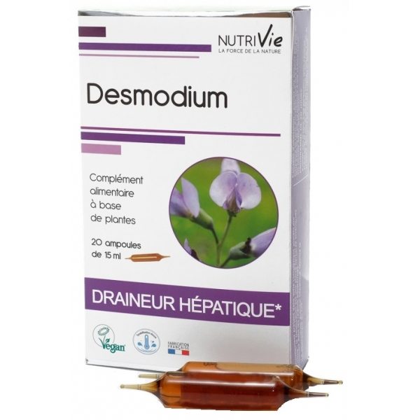 Desmodium - 20 ampoules Nutrivie