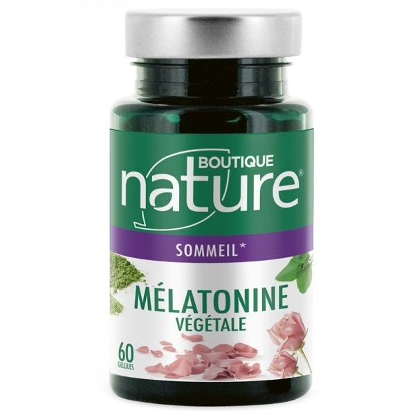 Melatonine Vegetale - 60 gelules Boutique nature