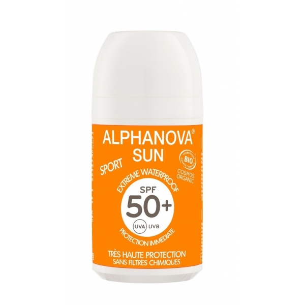 Solaire Roll-on SPF 50+ Alphanova sun