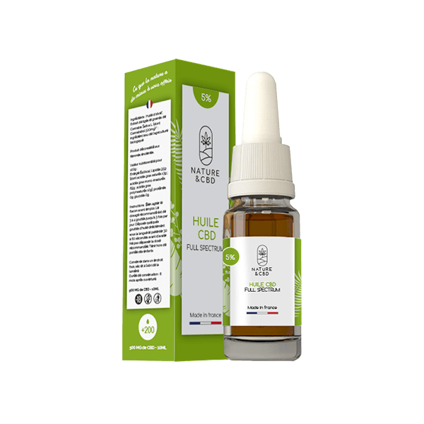 CBD 5% Cannabidiol -  Flacon 10ml
