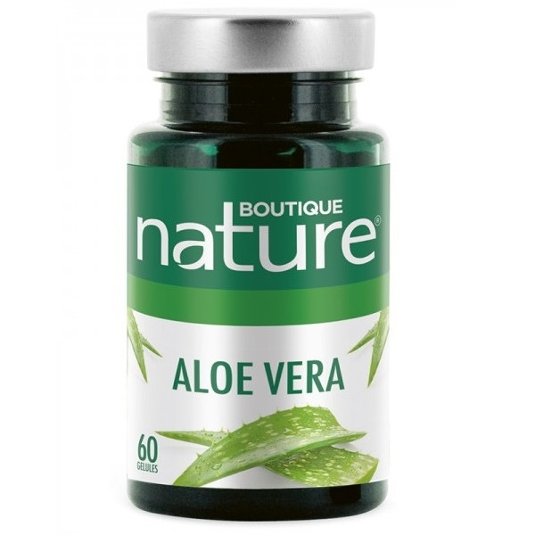 Aloe vera - 60 gelules Boutique nature