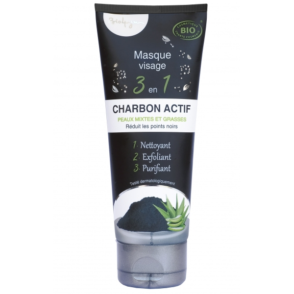 Masque Charbon actif - Tube 50ml Aquasilice