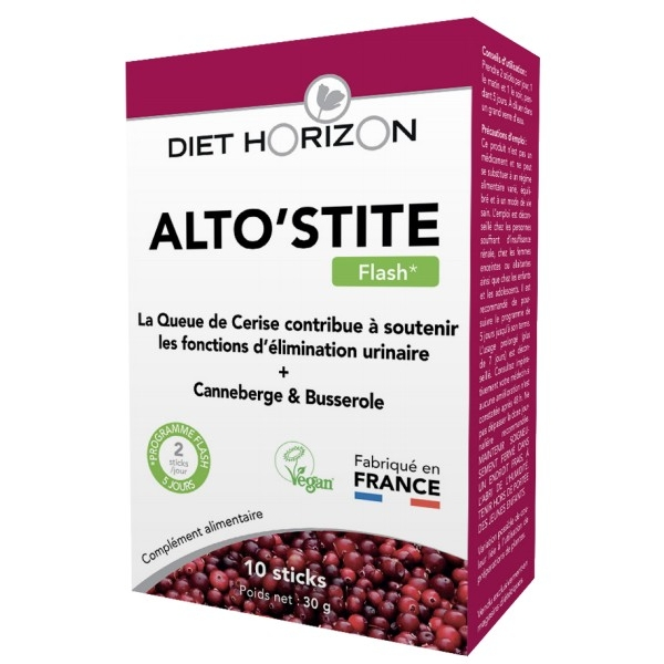 AltoStite Flash vegan - 10 sticks Diet Horizon