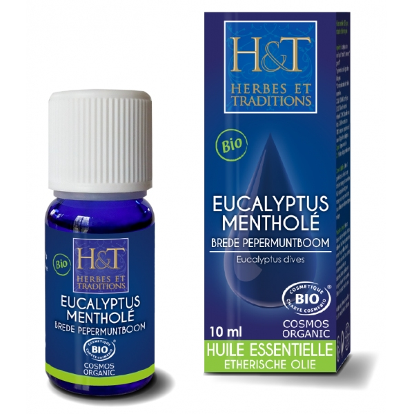 Eucalyptus Menthole - Huile essentielle 10ml Herbes Traditions