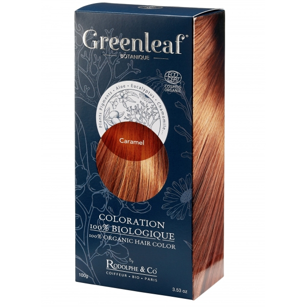 Coloration vegetale Bio - Caramel - Greenleaf