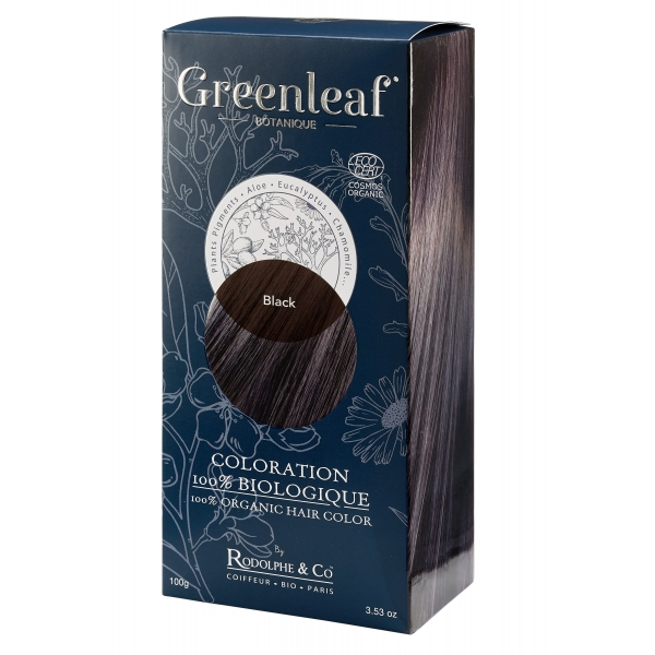 Coloration vegetale Bio Noir - Black Greenleaf