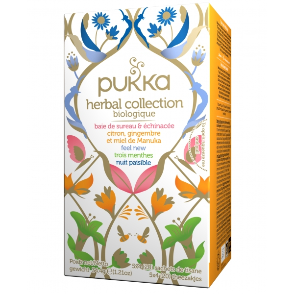 Infusions Herbal collection Bio - 20 sachets Pukka