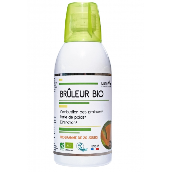 Bruleur Bio - Flacon 500 ml Nutrivie