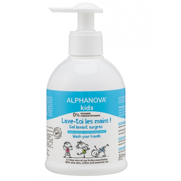 Lave-toi les mains Bio - Flacon 300 ml Alphanova Kids