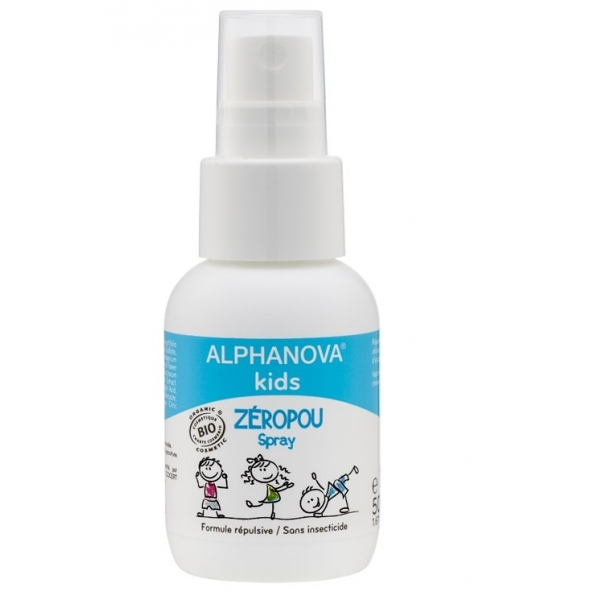 Zeropou - Spray Bio 50ml Alphanova Kids